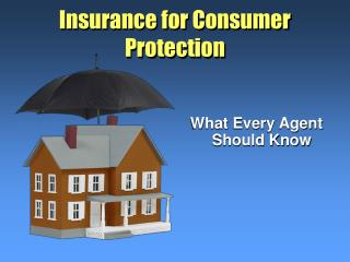 Insurance for Consumer Protection