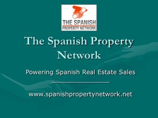 The Spanish Property Network
