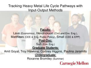 Tracking Heavy Metal Life Cycle Pathways with Input-Output Methods