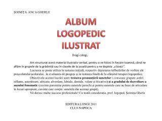 ALBUM LOGOPEDIC ILUSTRAT