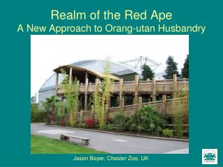 Realm of the Red Ape A New Approach to Orang-utan Husbandry
