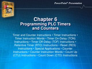 Chapter 6 Programming PLC Timers  and Counters
