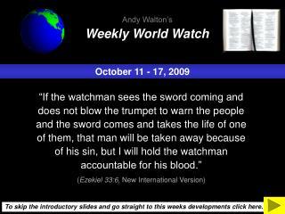 October 11 - 17, 2009