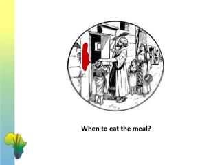 When to eat the meal?