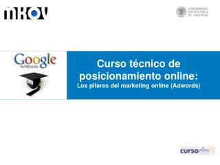 Curso técnico de posicionamiento online:  Los  pilares del marketing online  (Adwords)