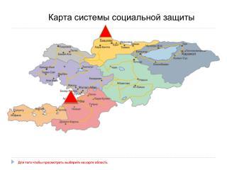 Карта системы социальной защиты