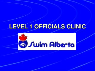LEVEL 1 OFFICIALS CLINIC