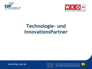 Technologie- und InnovationsPartner