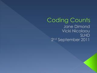 Coding Counts