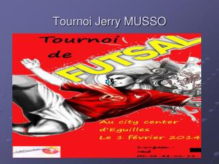 Tournoi Jerry MUSSO