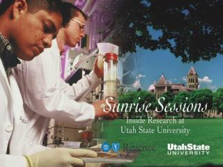 Exciting  Projects  at the  Utah Water  Research Laboratory