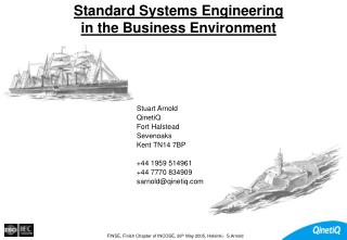 Standard Systems Engineering  in the Business Environment