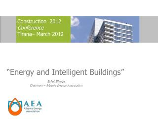 """Energy and Intelligent Buildings"""