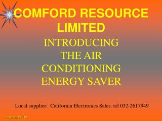 COMFORD RESOURCE LIMITED