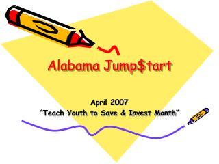 Alabama Jump$tart
