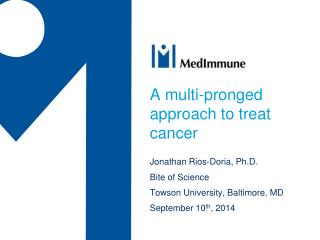 A multi-pronged approach to treat cancer