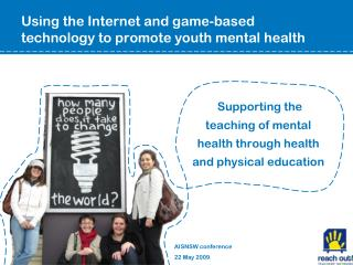 Using the Internet and game-based technology to promote youth mental health