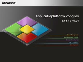 Applicatieplatform congres 12 & 13  maart