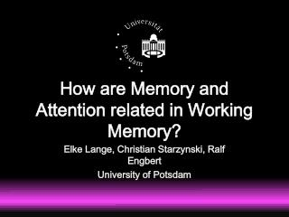 How are Memory and Attention related in Working Memory?