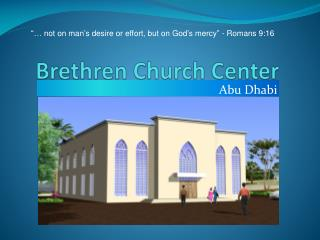 Brethren Church Center