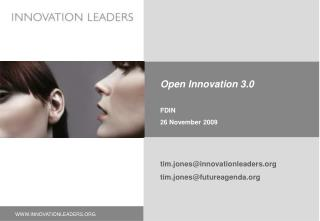 Open Innovation 3.0