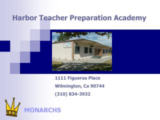 Harbor Teacher Preparation Academy