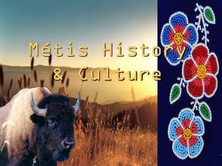 Métis History & Culture