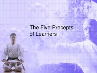 The Five Precepts of Learners