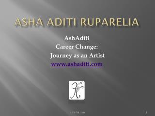 Asha Aditi Ruparelia