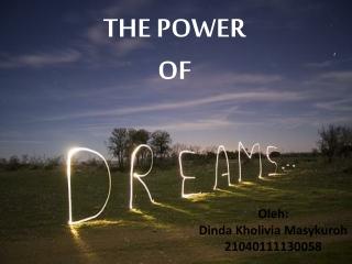 Orang Sukses dan Impian