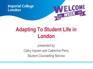 Adapting To Student Life in London