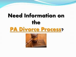 PA Divorce Process