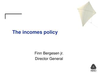The incomes policy