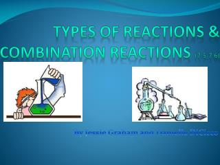 Types of Reactions & Combination Reactions  (7.5-7.6)