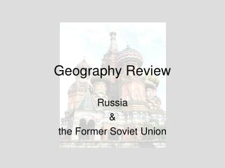 Geography Review