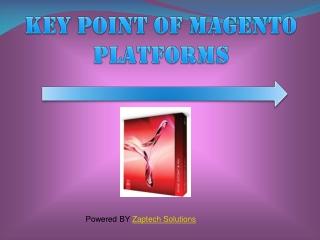 KEY POINT OF MAGENTO PLATFORMS