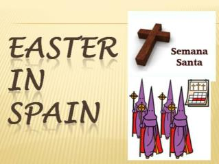 What is Easter  in  Spain ?