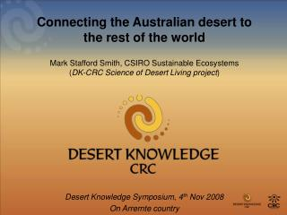 Connecting the Australian desert to the rest of the world