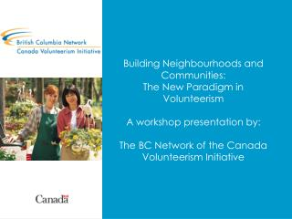 What is the Canada Volunteerism Initiative?