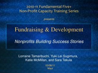 Fundraising & Development