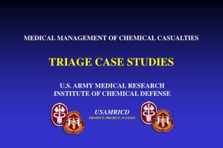 TRIAGE CASE STUDIES