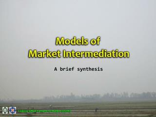 A brief synthesis