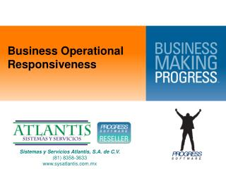 Business Operational Responsiveness