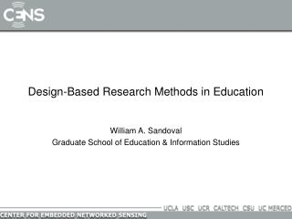 Design-Based Research Methods in Education