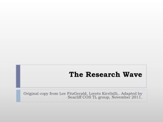 The Research Wave