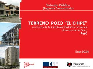 "TERRENO  POZO ""EL CHIPE"""