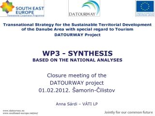 WP3 - SYNTHESIS BASED ON THE NATIONAL ANALYSES