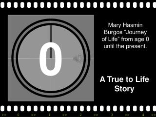 "Mary Hasmin Burgos ""Journey of Life"" from age 0 until the present."