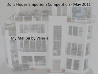 Dolls House Emporium Competition - May 2011