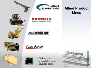 Allied Product Lines